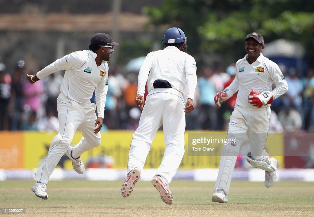 Sri Lanka v England: 1st Test - Day Four