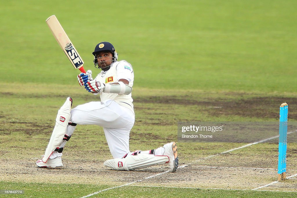 <a gi-track='captionPersonalityLinkClicked' href=/galleries/search?phrase=Mahela+Jayawardene&family=editorial&specificpeople=213707 ng-click='$event.stopPropagation()'>Mahela Jayawardene</a> of Sri Lanka bats during day two of the international tour match between the Chairman's XI and Sri Lanka at Manuka Oval on December 7, 2012 in Canberra, Australia.