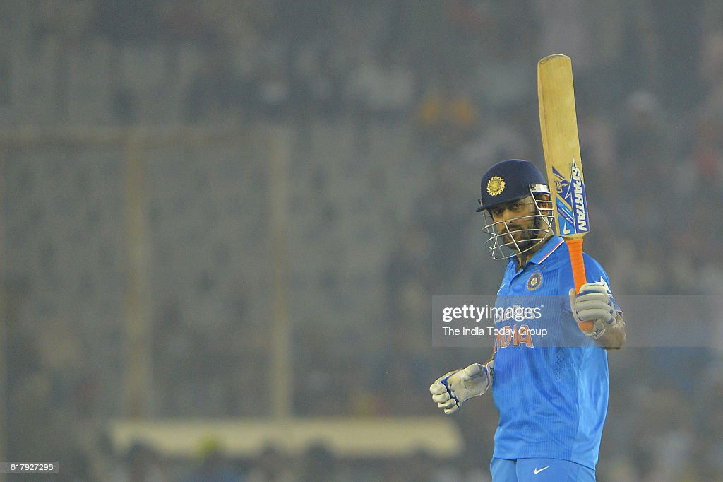 India v New Zealand 3rd ODI : News Photo