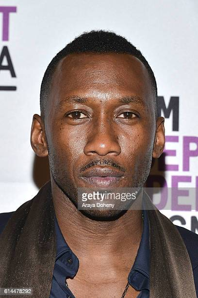 Mahershala Ali attends the Film Independent at LACMA screening and QA of 'Moonlight' at LACMA on October 13 2016 in Los Angeles California