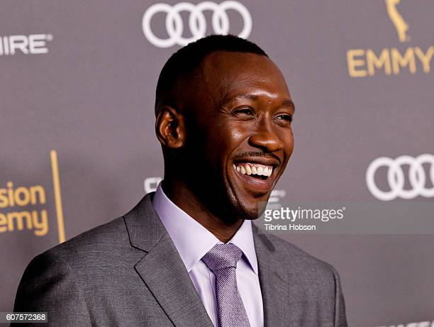 Mahershala Ali attends the Television Academy reception for Emmy Nominees at Pacific Design Center on September 16 2016 in West Hollywood California