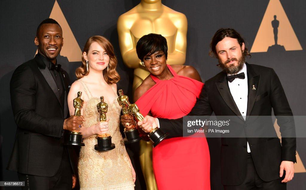 The 89th Academy Awards - Press Room - Los Angeles : News Photo
