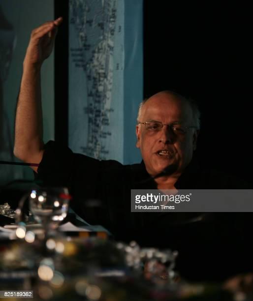 Mahesh Bhatt Film Director at Session 4 Culture and Heritage of Mumbai Project Symposium at Hotel Taj Mumbai
