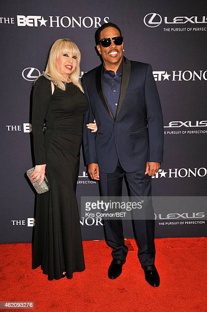 Mahin Wilson and singer Charlie Wilson attend 'The BET Honors' 2015 at Warner Theatre on January 24 2015 in Washington DC