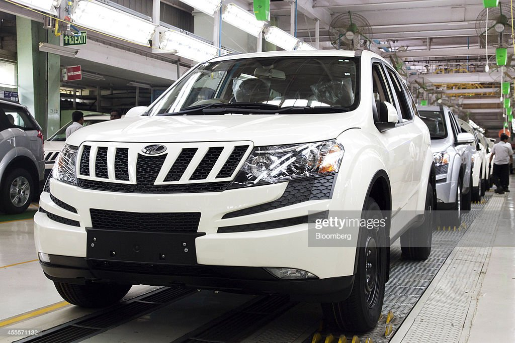 Production On The Suv Line At Mahindra Mahindra S Chakan Plant