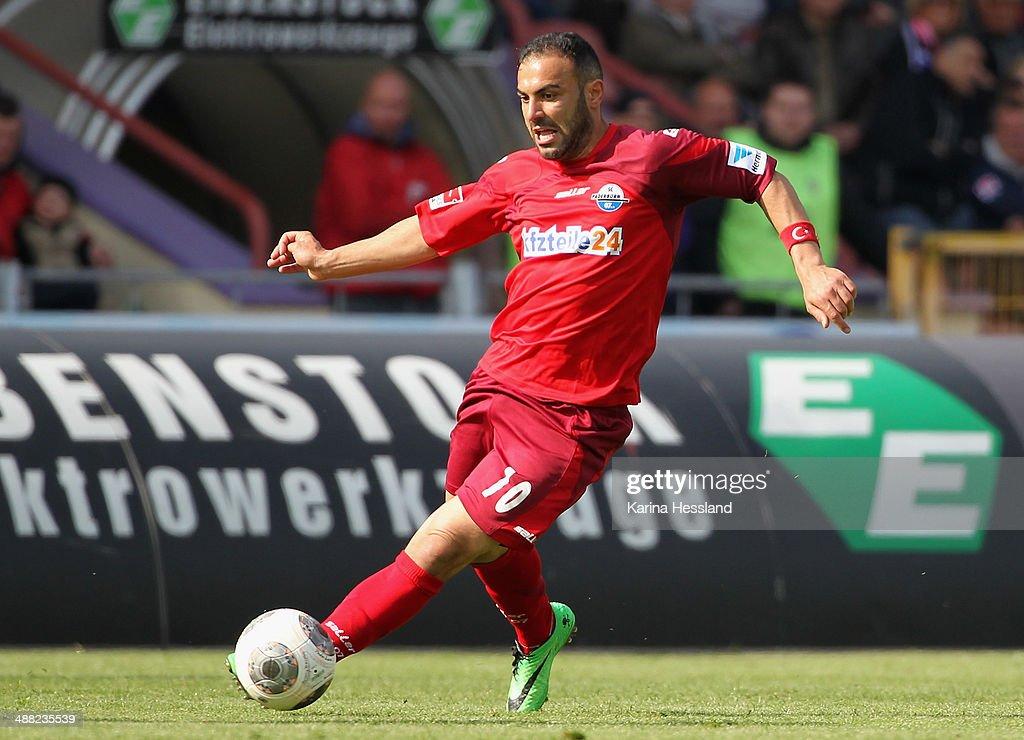 Erzgebirge Aue v SC Paderborn - 2. Bundesliga