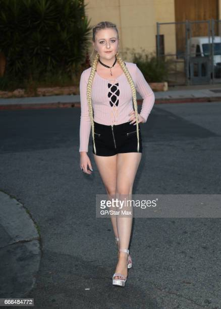 Mahkenna is seen on April 8 2017 in Los Angeles CA