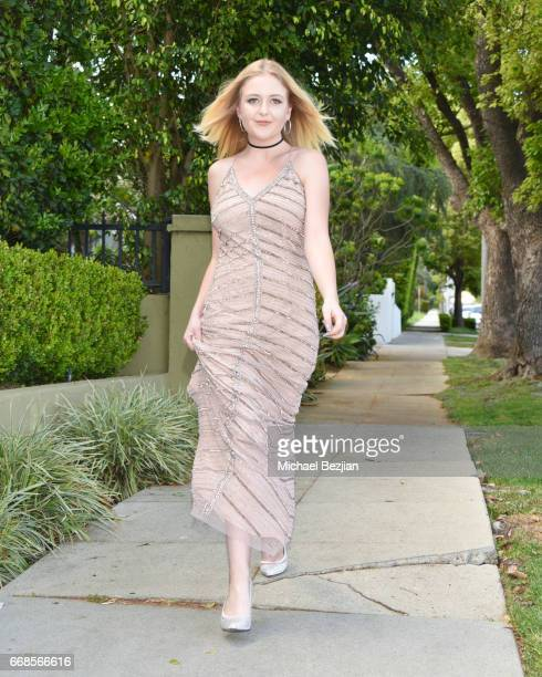Mahkenna Tyson attends Celebrity Stylist Ali Levine Dresses Today's Influencers For Prom/Spring Fling Event at Pistol Stamen on April 13 2017 in Los...