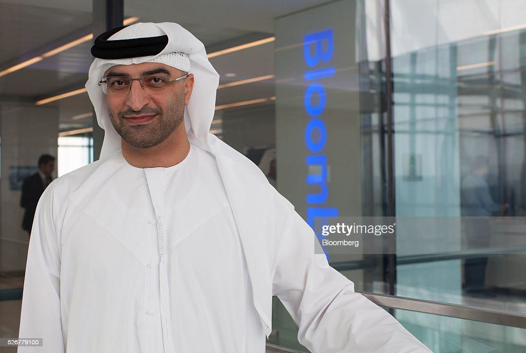 Mahmood Al Mahmood, chairman of ADS Holding LLC, poses for a photograph following a Bloomberg Television interview in Dubai, United Arab Emirates, on Sunday, May 1, 2016. Global economic growth will determine whether sovereign wealth funds withdraw further funds from global markets, according to Al Mahmood. Photographer: Razan Alzayani/Bloomberg via Getty Images