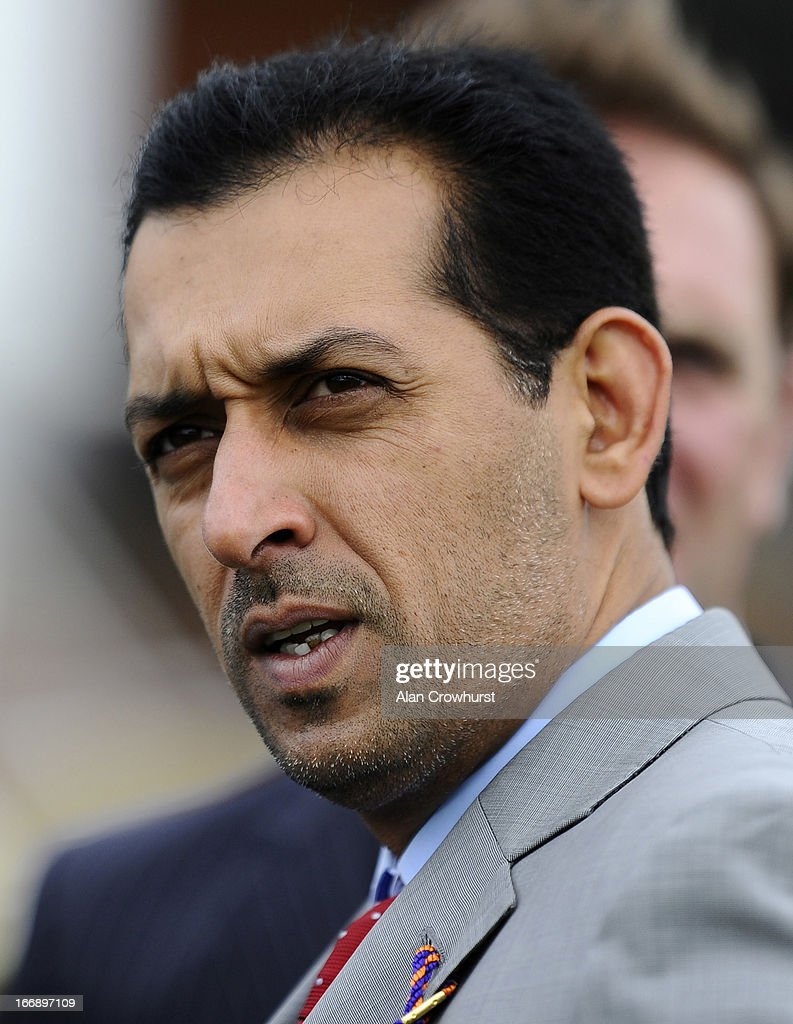 Mahmood Al Zarooni poses at Newmarket racecourse on April 18, 2013 in Newmarket, England.