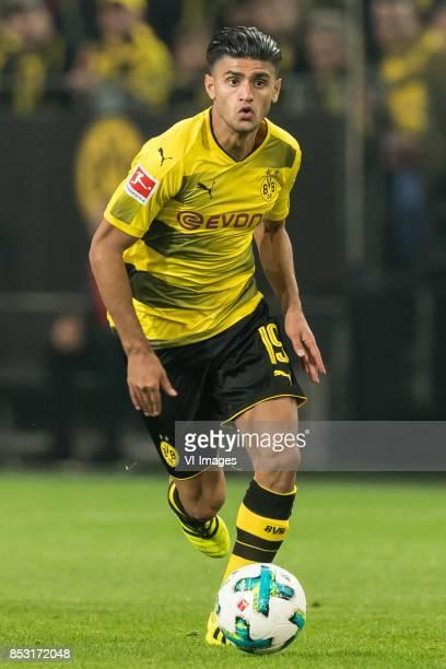 Mahmoud Dahoud of Borussia Dortmund during the Bundesliga match between Borussia Dortmund and Borussia Mönchengladbach on September 23 2017 at the...