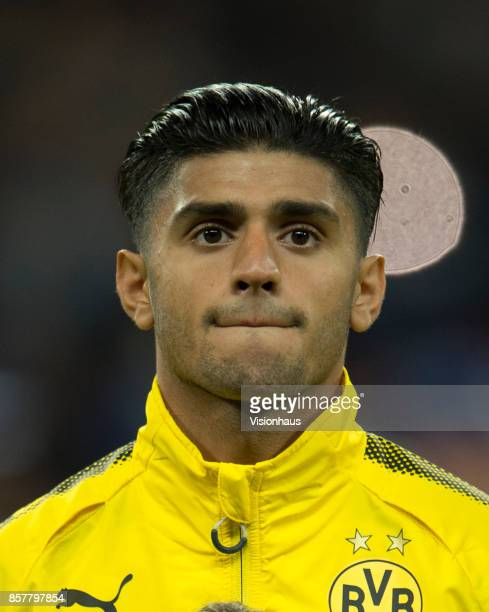 Mahmoud Dahoud of Borussia Dortmund during the UEFA Champions League match between Tottenham Hotspur FC and Borussia Dortmund at Wembley Stadium on...