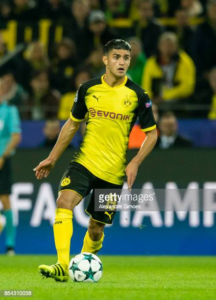 Mahmoud Dahoud of Borussia Dortmund in action during the UEFA Champions League First Qualifying Round 1st Leg match between Borussia Dortmund and...