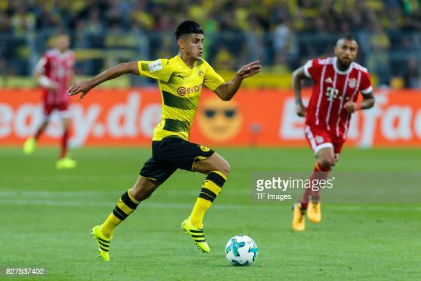 Mahmoud Dahoud of Dortmund controls the ball during the DFL Supercup 2017 match between Borussia Dortmund and Bayern Muenchen at Signal Iduna Park on...