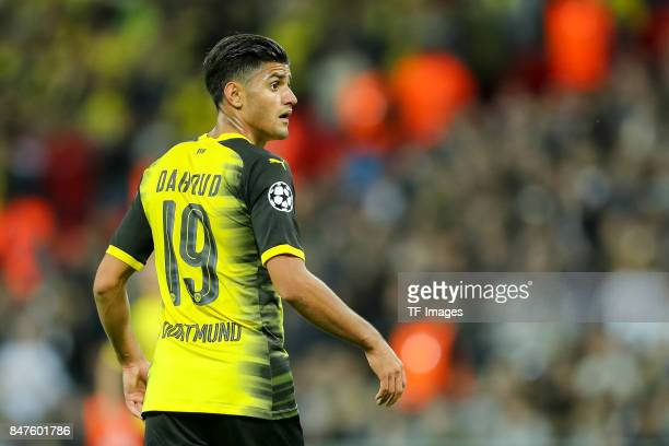 Mahmoud Dahoud of Dortmund looks on during the UEFA Champions League group H match between Tottenham Hotspur and Borussia Dortmund at Wembley Stadium...
