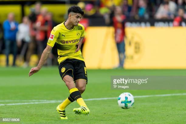 Mahmound Dahoud of Dortmund controls the ball during the Borussia Dortmund Season Opening 2017/18 at Signal Iduna Park on August 4 2017 in Dortmund...