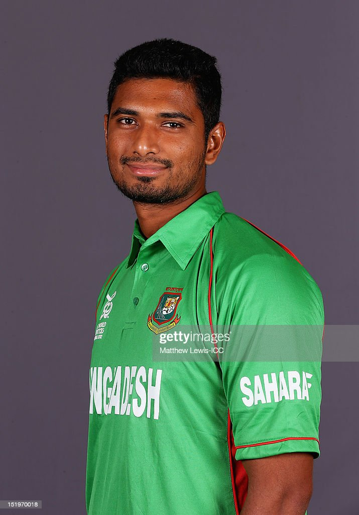Mahmudullah of Bangladesh pictured during a Bangladesh Portrait session ahead of the ICC T20 world Cup at the Taj Samudra Hote on September 14, 2012 in Colombo, Sri Lanka.