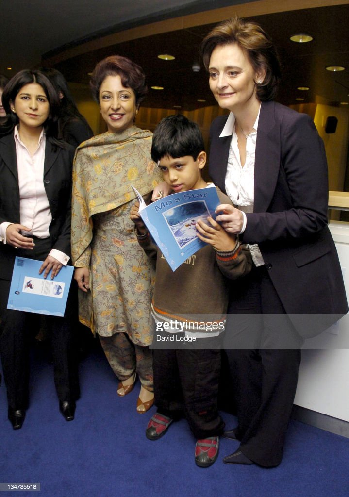 Mahnaz Malik and H.E. Dr Maleeha Lodhi and Cherie Booth Q.C