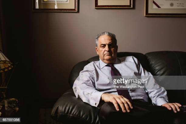 CANFIELD OHIO MARCH 2 Mahoning County Democrats Chair David Betras sat for a portrait in his office in Canfield Ohio on March 2 2017 Mahoning County...