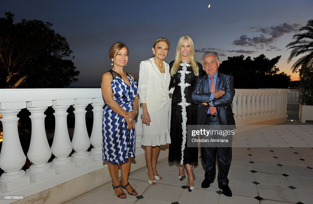 Dinner With Queen Farah Diba Pahlavi At Hotel Le Cap Estel