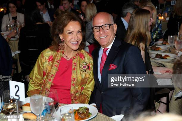 Mai Hallingby Harrison and Fred Negem attend The Boys' Club of New York Annual Awards Dinner at Mandarin Oriental on May 17 2017 in New York City