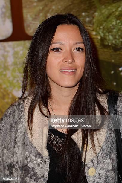 Mai Lan attends the 'Il etait une foret' Paris Premiere at Cinema Gaumont Marignan in Paris