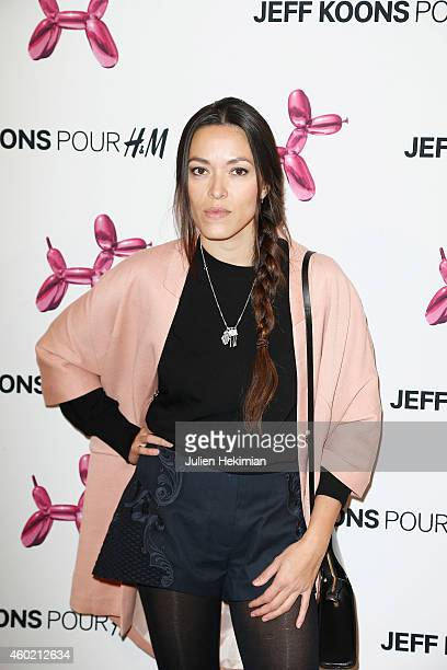 Mai Lan attends the Jeff Koons For HM Handbag Presentation a Cocktail Event at Centre Pompidou on December 9 2014 in Paris France