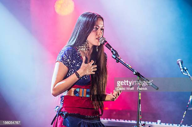 Mai Lan performs during Les Inrocks Festival 2012 at La Cigale on November 11 2012 in Paris France