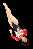 Mai Murakami of Japan competes in the Floor during day one of the 2015 World Artistic Gymnastics Championships at The SSE Hydro on October 23 2015 in...