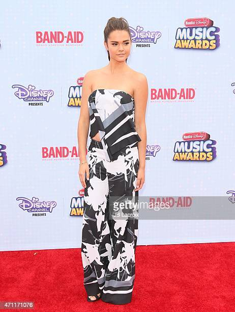 Maia Mitchell attends the 2015 Radio Disney Music Awards at Nokia Theatre LA Live on April 25 2015 in Los Angeles California