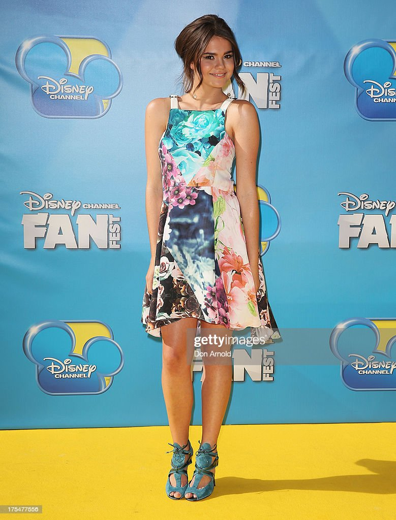 Maia Mitchell attends the Australian premiere of The Disney Channel's 'Teen Beach Movie' on August 4, 2013 in Sydney, Australia.