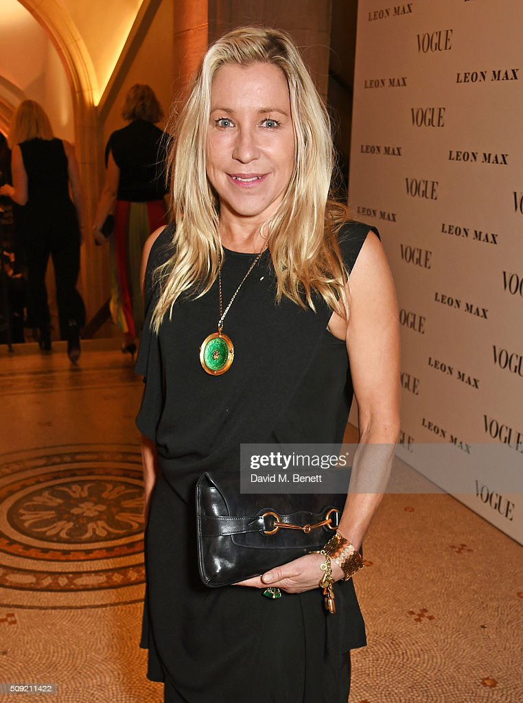 <a gi-track='captionPersonalityLinkClicked' href=/galleries/search?phrase=Maia+Norman&family=editorial&specificpeople=5521104 ng-click='$event.stopPropagation()'>Maia Norman</a> attends a private view of 'Vogue 100: A Century of Style' hosted by Alexandra Shulman and Leon Max at the National Portrait Gallery on February 9, 2016 in London, England.