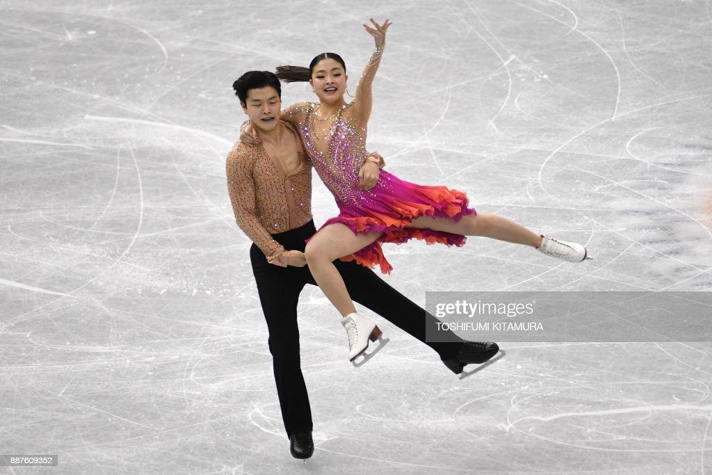 Майя Шибутани - Алекс Шибутани / Maia SHIBUTANI - Alex SHIBUTANI USA - Страница 16 Maia-shibutani-and-alex-shibutani-of-the-us-compete-during-the-ice-picture-id887609352
