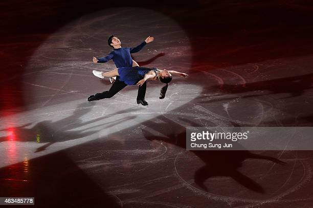 Maia Shibutani and Alex Shibutani of United States skate in the Gala Exhibition on day four of the ISU Four Continents Figure Skating Championships...