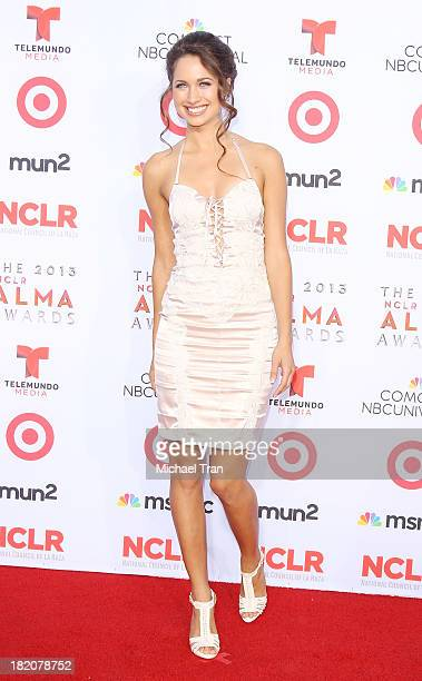 Maiara Walsh arrives at the 2013 NCLR ALMA Awards held at Pasadena Civic Auditorium on September 27 2013 in Pasadena California