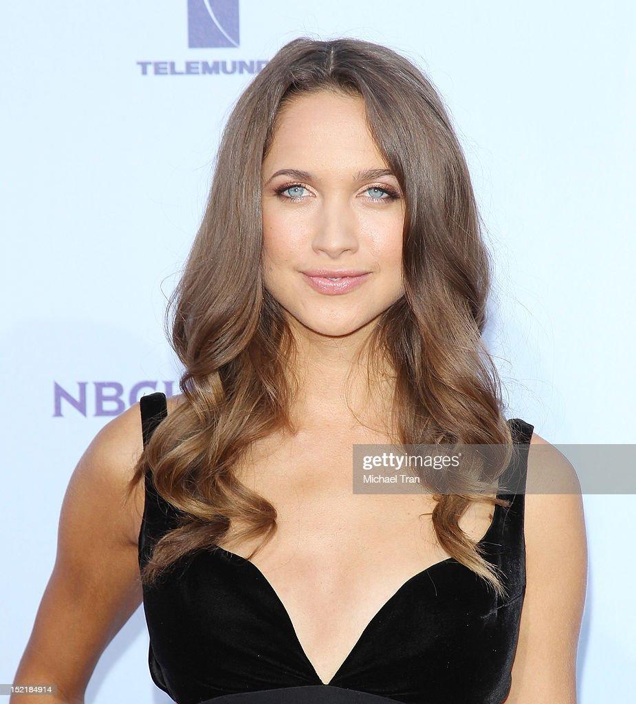 Maiara Walsh arrives at the NCLR 2012 ALMA Awards held at Pasadena Civic Auditorium on September 16, 2012 in Pasadena, California.