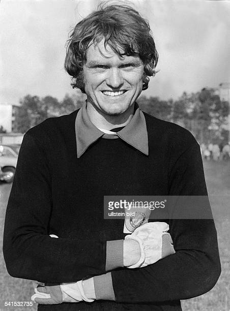 Maier Sepp *Fussballer Torwart DFC Bayern Muenchen Halbportrait 1972