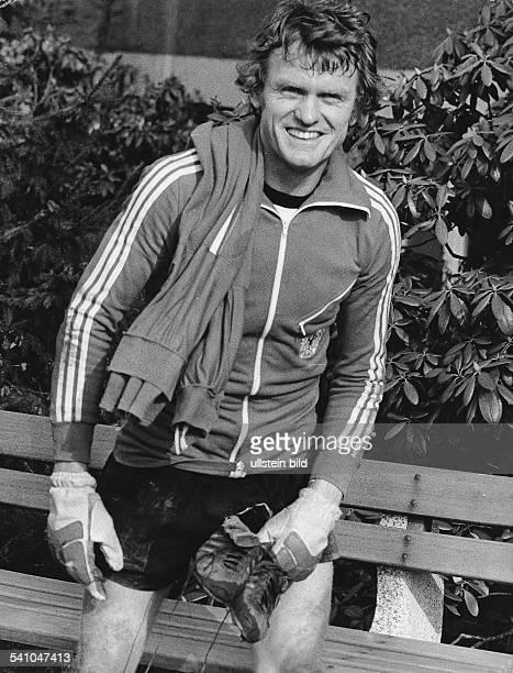 Maier Sepp *Fussballer Torwart DFC Bayern Muenchen in Sportkleidung 1976
