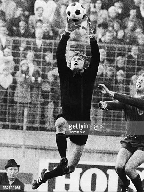 Maier Sepp Fussballer Torwart D FC Bayern Muenchen in Aktion 1972
