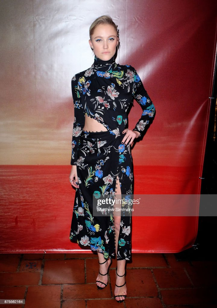 Maika Monroe at the premiere of IFC Films' 'The Tribes Of Palos Verdes' at The Theatre at Ace Hotel on November 17, 2017 in Los Angeles, California.