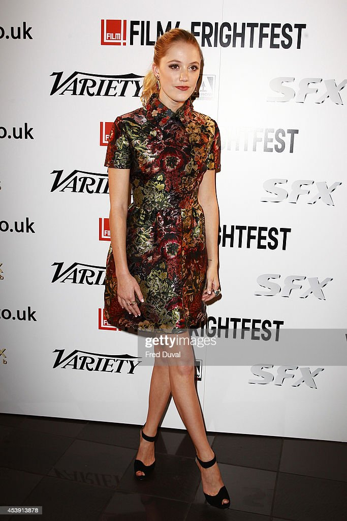 <a gi-track='captionPersonalityLinkClicked' href=/galleries/search?phrase=Maika+Monroe&family=editorial&specificpeople=8716720 ng-click='$event.stopPropagation()'>Maika Monroe</a> attends the UK premiere of 'The Guest' at Vue Leicester Square on August 21, 2014 in London, England.
