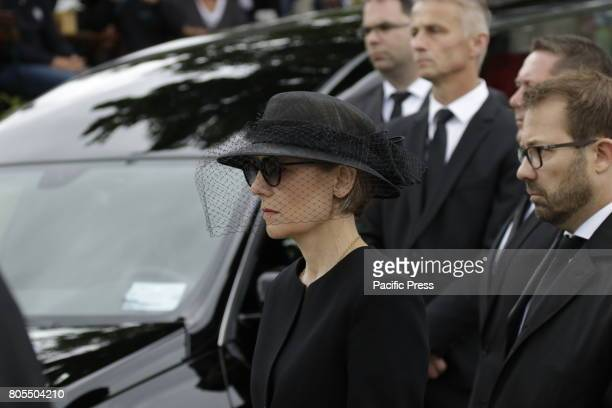 Maike KohlRichter the widow of Helmut Kohl follows the coffin of her late husbandThe coffin of former German Chancellor Helmut Kohl arrived in Speyer...
