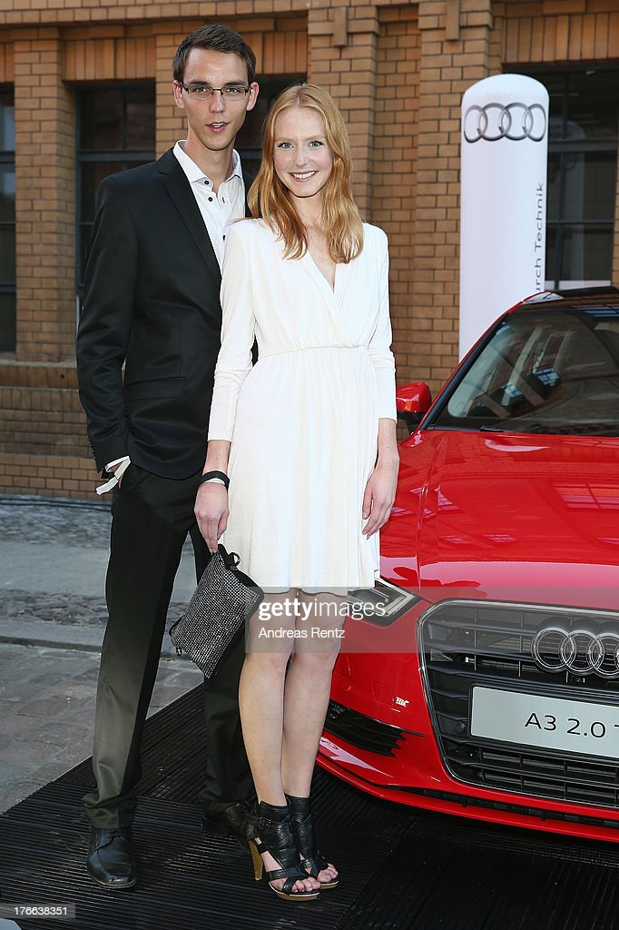 Maike van Grieken and partner Tammo attend the 12th Audi Classic Open Air during the AUDI Sommernacht at Kulturbrauerei on August 16 2013 in Berlin...