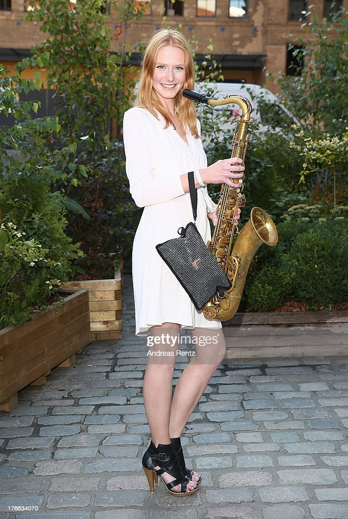 Maike van Grieken attends the 12th Audi Classic Open Air during the AUDI Sommernacht at Kulturbrauerei on August 16, 2013 in Berlin, Germany.