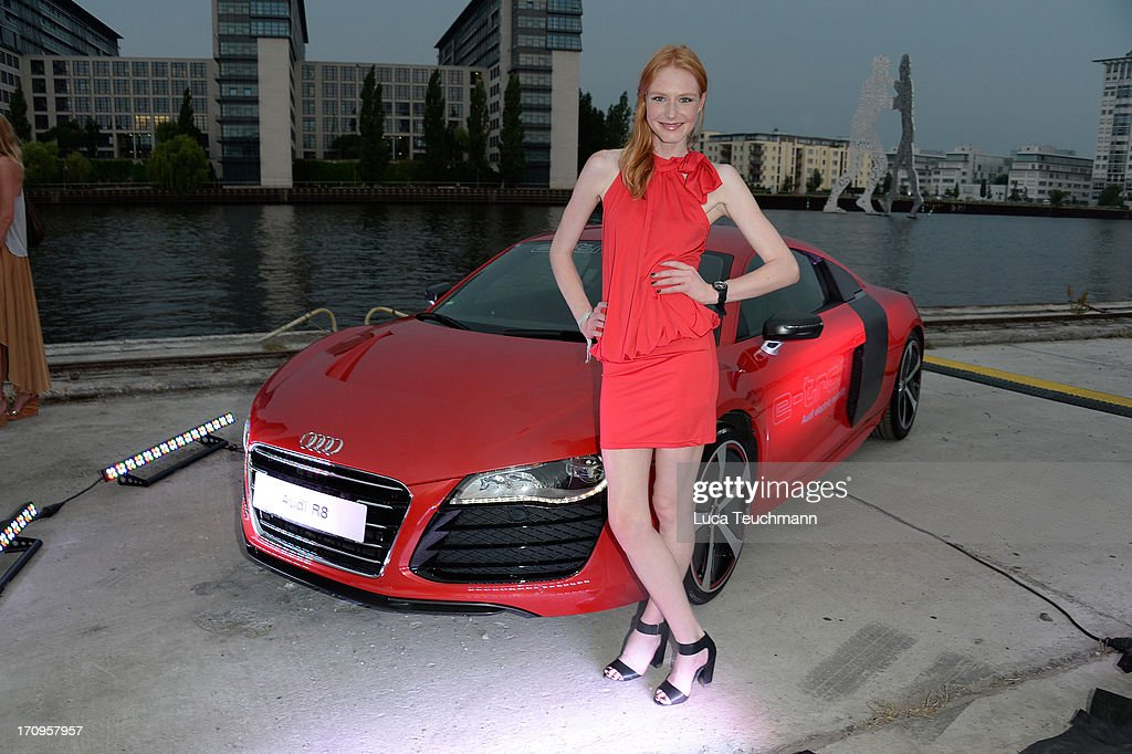 Maike van Grieken attends the ' Audi Urban Cinema ' on June 20, 2013 in Berlin, Germany.
