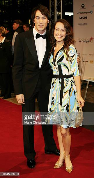 Maike von Bremen and Arne Stephan during Innocence in Danger Charity Gala October 1 2006 at Hotel Ritz Carlton in Berlin Berlin Germany