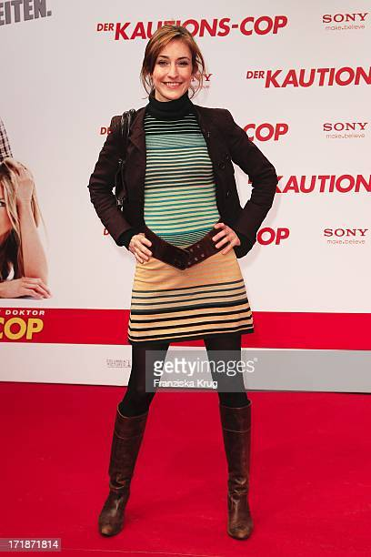 Maike Von Bremen at The Arrival Of The premiere movie 'The Bounty Hunter' in Berlin