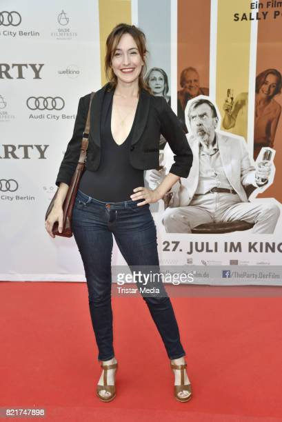 Maike von Bremen attend sthe premiere of 'The Party' on July 24 2017 in Berlin Germany