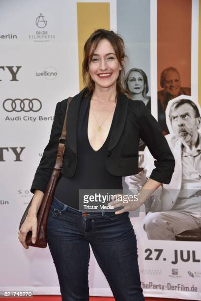 Maike von Bremen attends sthe premiere of 'The Party' on July 24 2017 in Berlin Germany