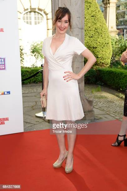 Maike von Bremen attends the 25th anniversary party of the TV show 'GZSZ' on May 17 2017 in Berlin Germany